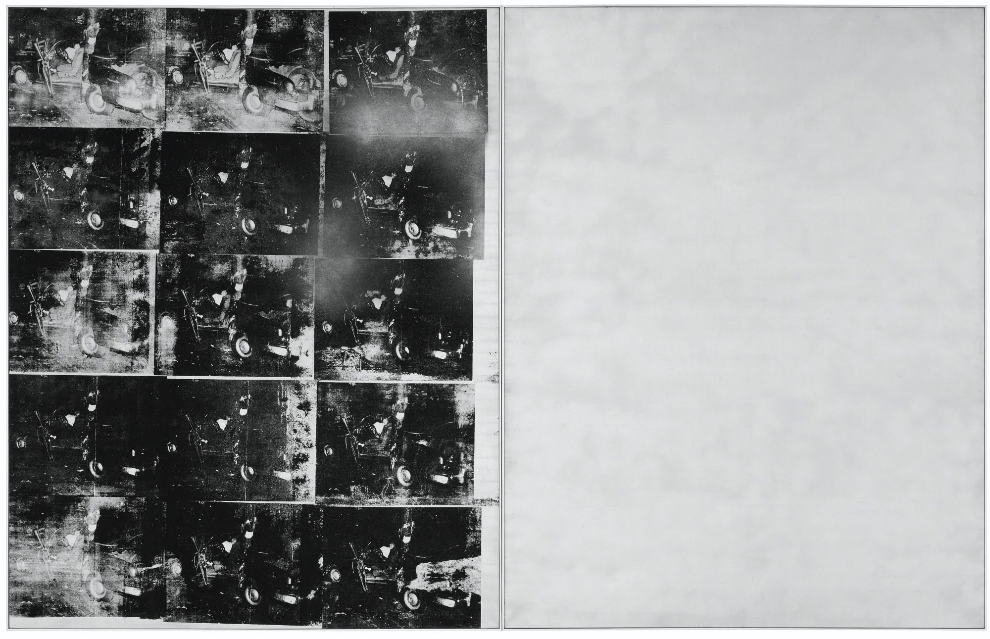 Andy Warhol Silver Car Crash (Double Disaster) 1963