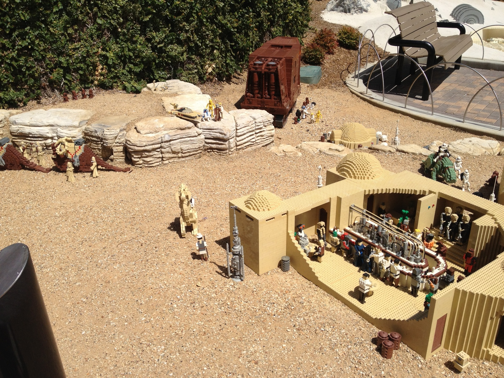 """Wretched hive of scum and villainy"""