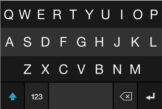 The Fleksy iPhone alternative keyboard.