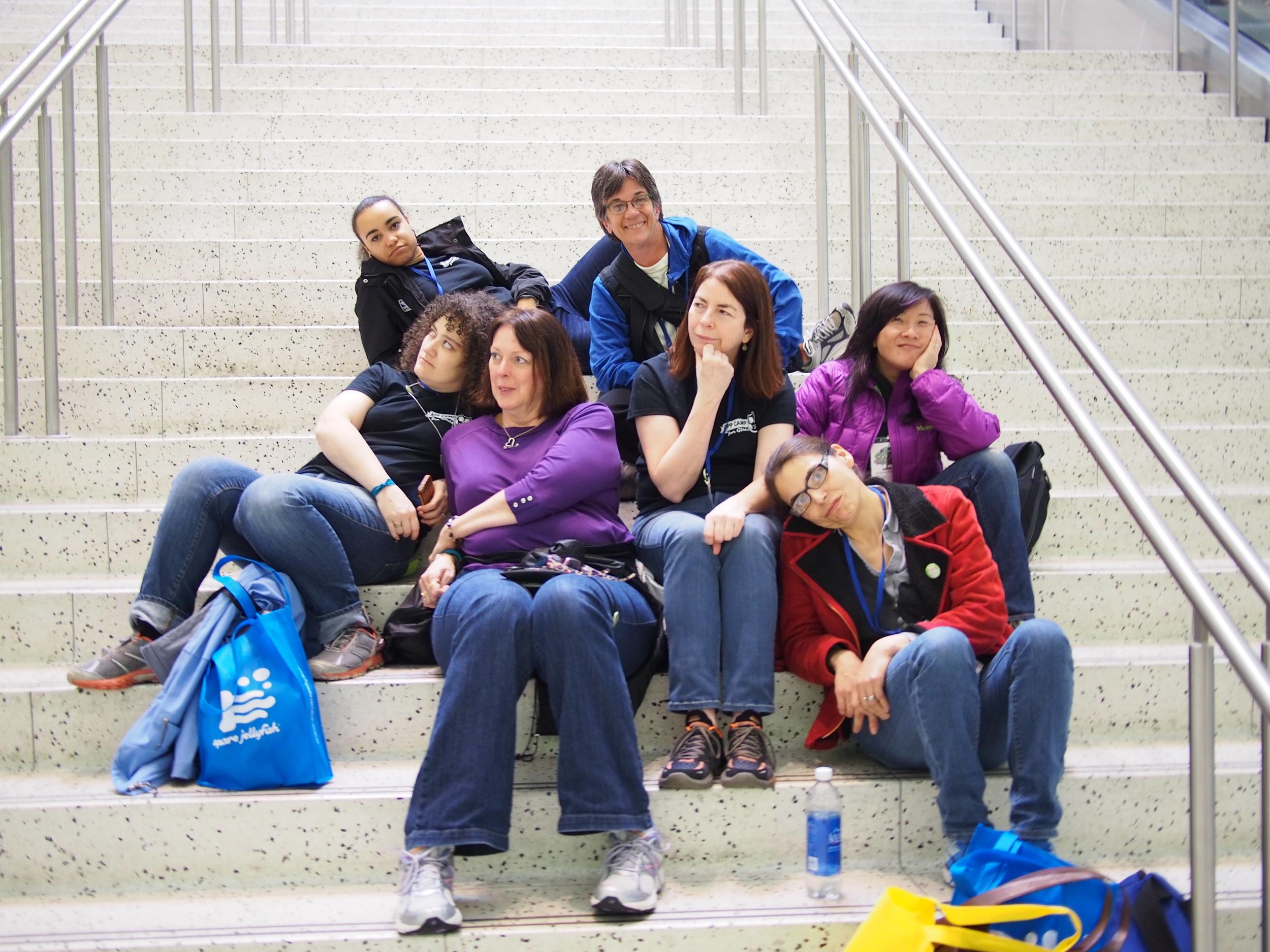 App Camp For Girls Team