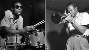 Here are both Max Roach and Clifford Brown looking much cooler than I could ever look.