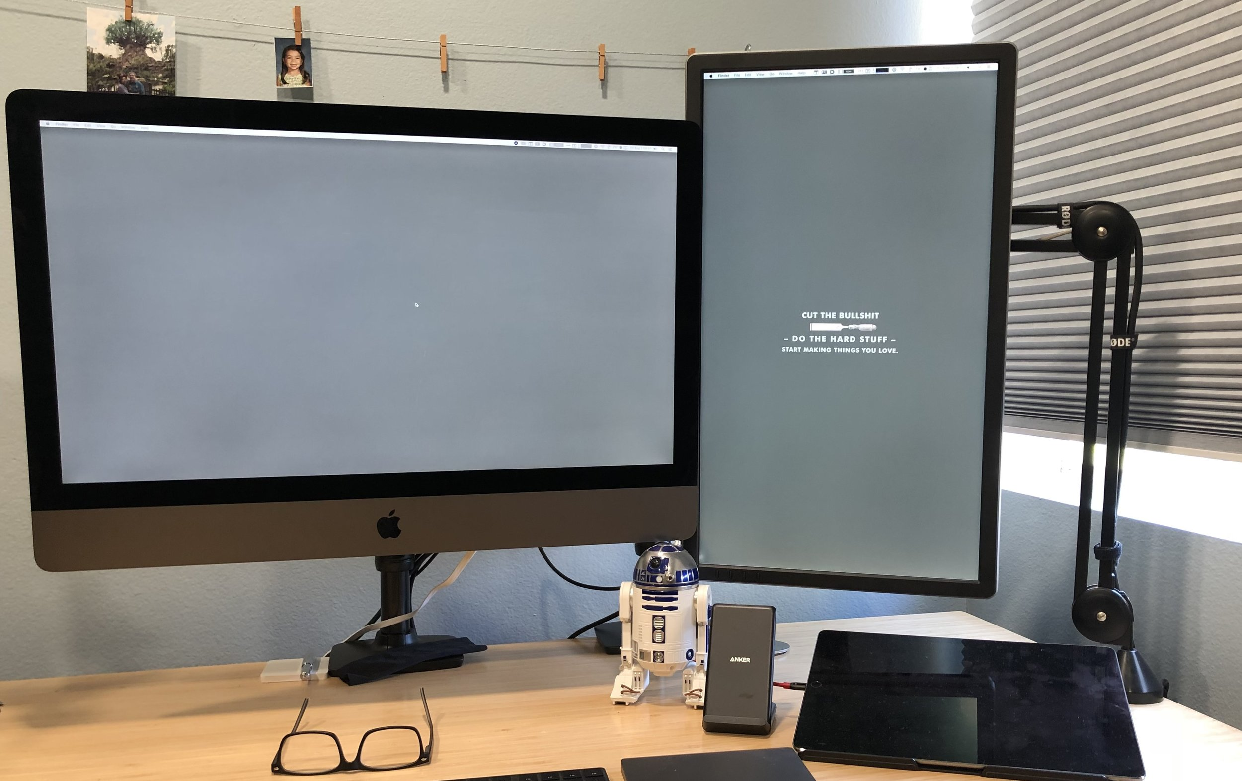 can you hook up 2 monitors to imac