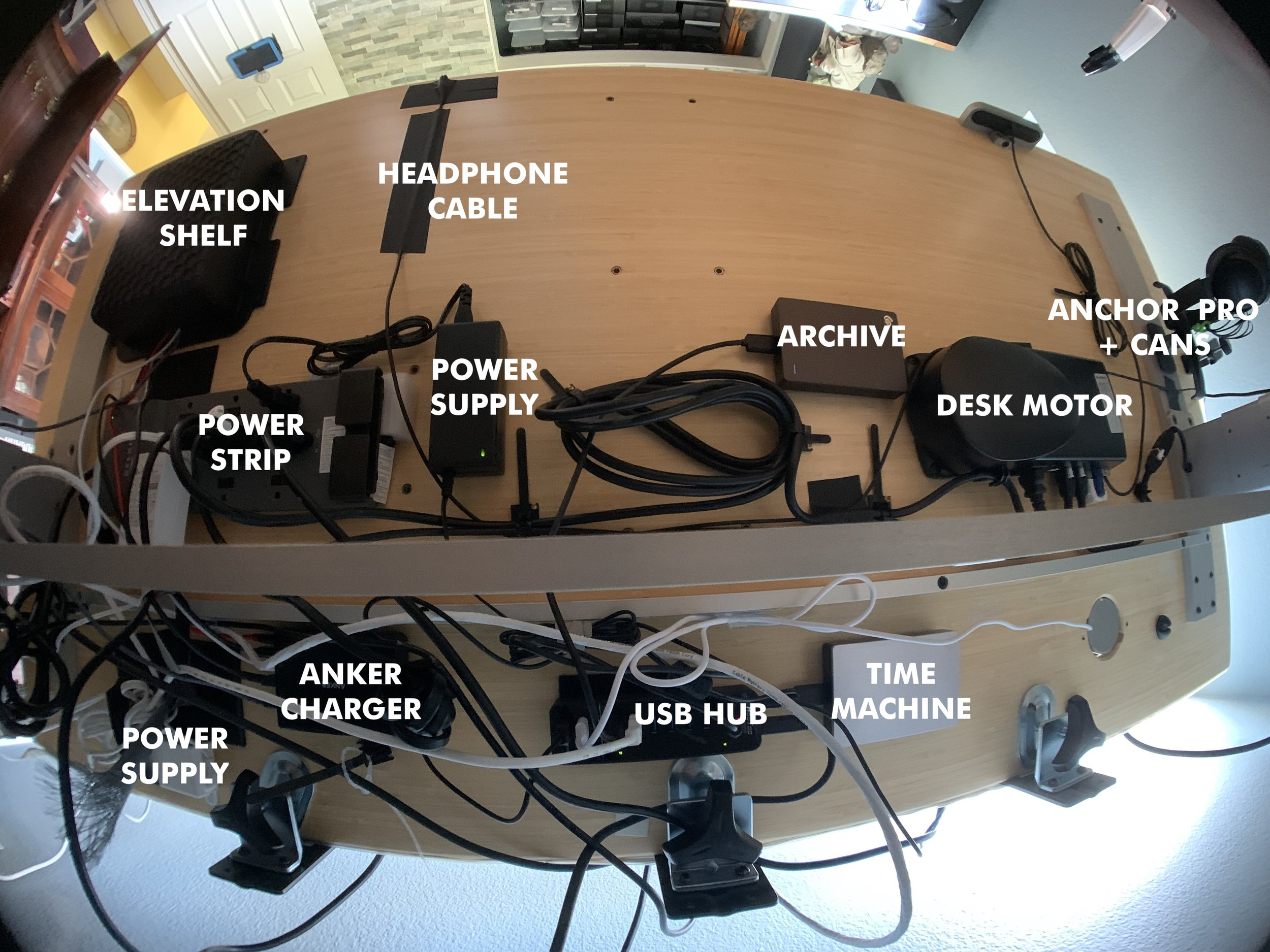 Shot with a fisheye lens. Click to enlarge.