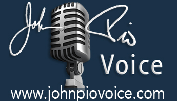 Check out John's work on www.johnpiovoice.com and give him some lovin'. In that straight-laced, hire him for voice work way. Not the prison way.