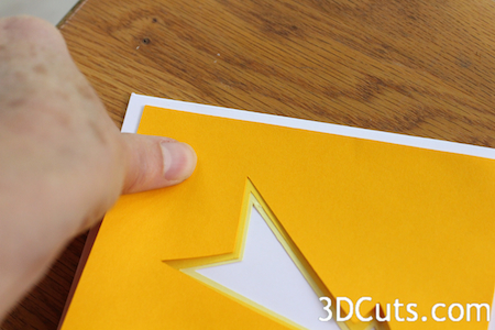 Add each layer aligning edges.
