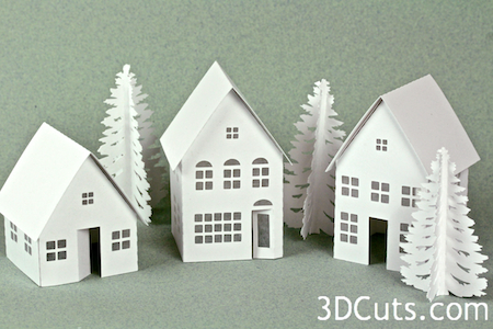 Tutorial - Tea Light Village- Basic Building — 3DCuts com