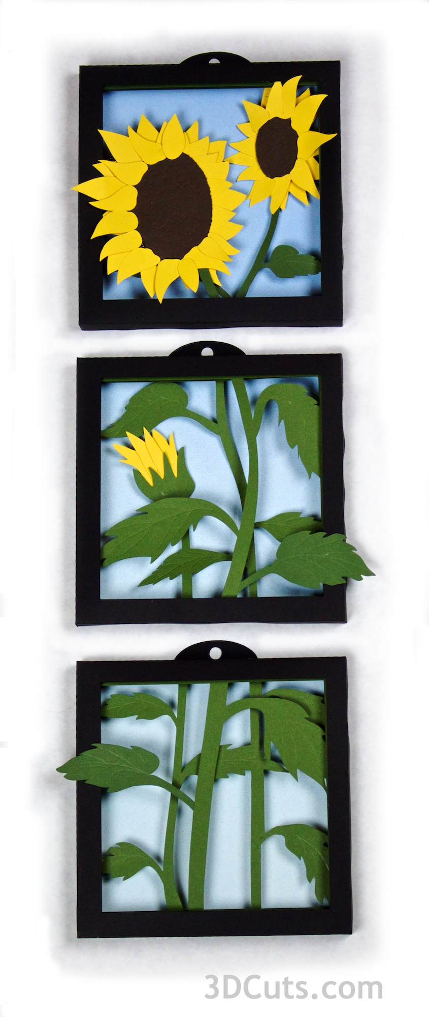 Sunflowers by 3dcuts.com