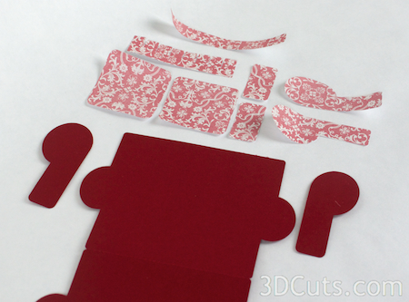 3DCuts.com, Marji Roy, 3D cutting files in .svg, .dxf, and pdf. formats for use with Silhouette and Cricut cutting machines, paper crafting files, Couch Card, Sofa Card, A2 Card