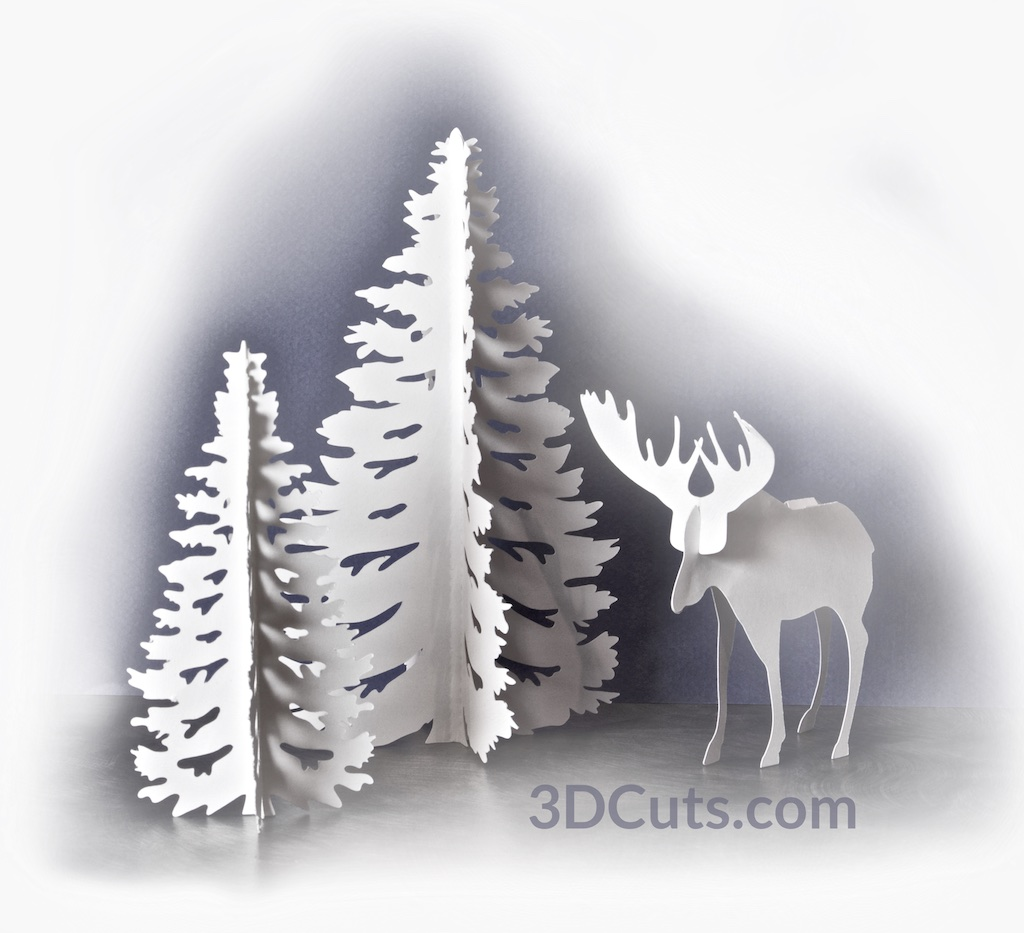 Moose and Trees by Marji Roy 3dcuts.jpg