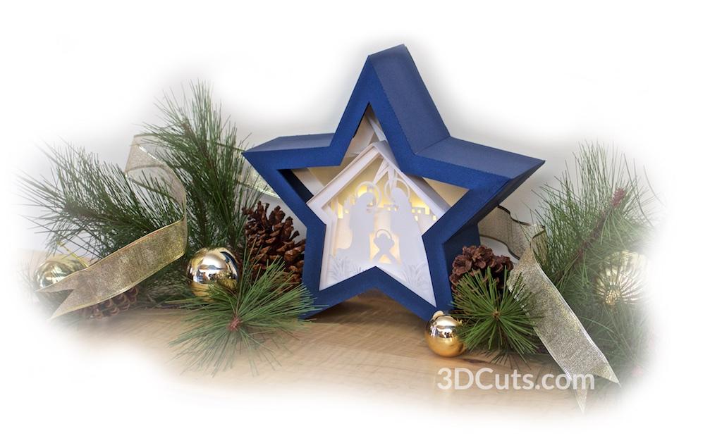 Nativity Star Shadow Box by 3dcuts v5.jpg