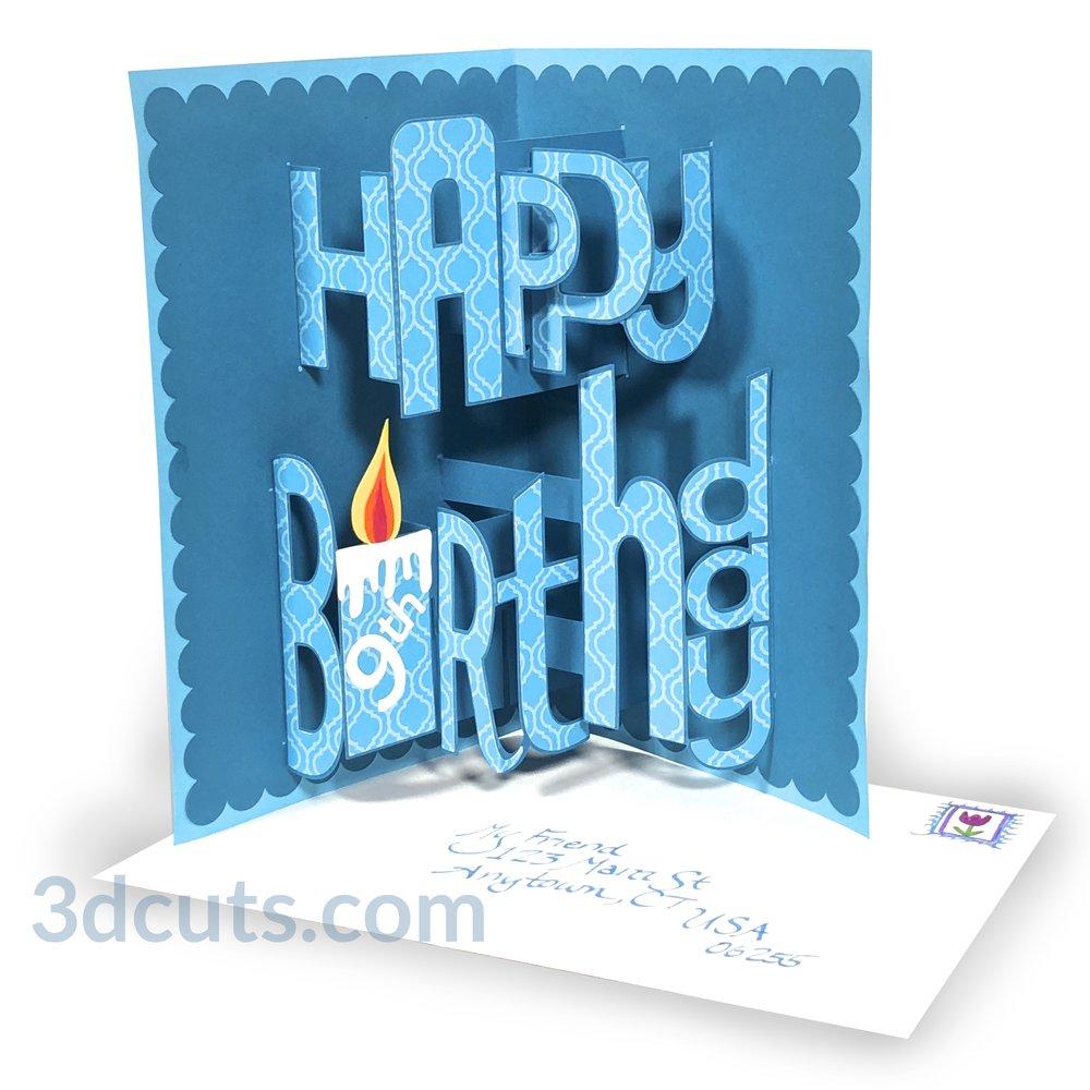 Envelope Birthday Banner Birthday SVG SVG Cutting Files Banner SVG