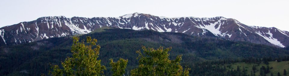 The Wallowa Mountains