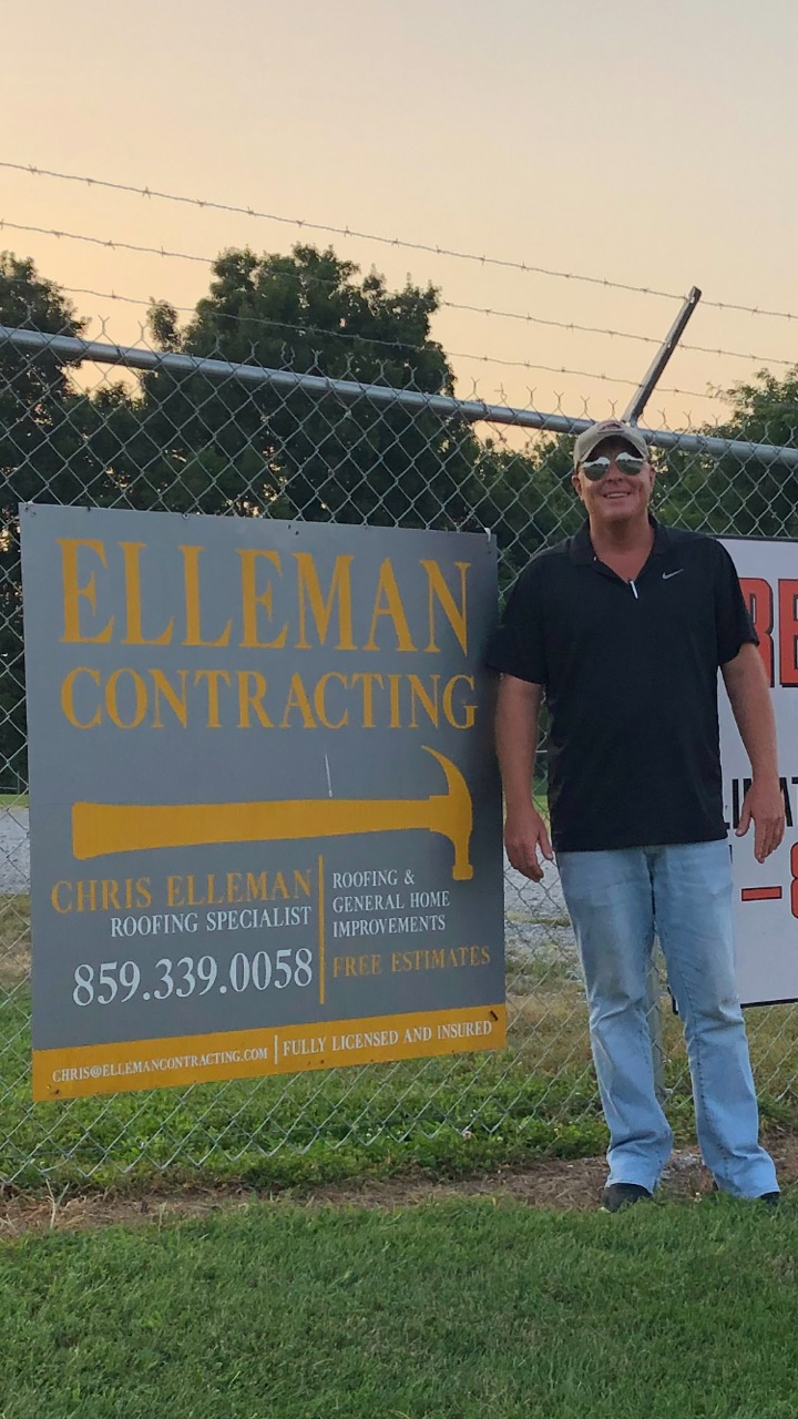 "Chris ""Roo"" Elleman, owner of Elleman Properties and Elleman Contracting in Lancaster, has agreed to cover the registration fee for any child that signs up for the Garrard little league football program."