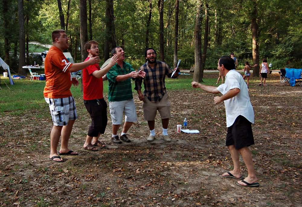 Quarteting in the woods