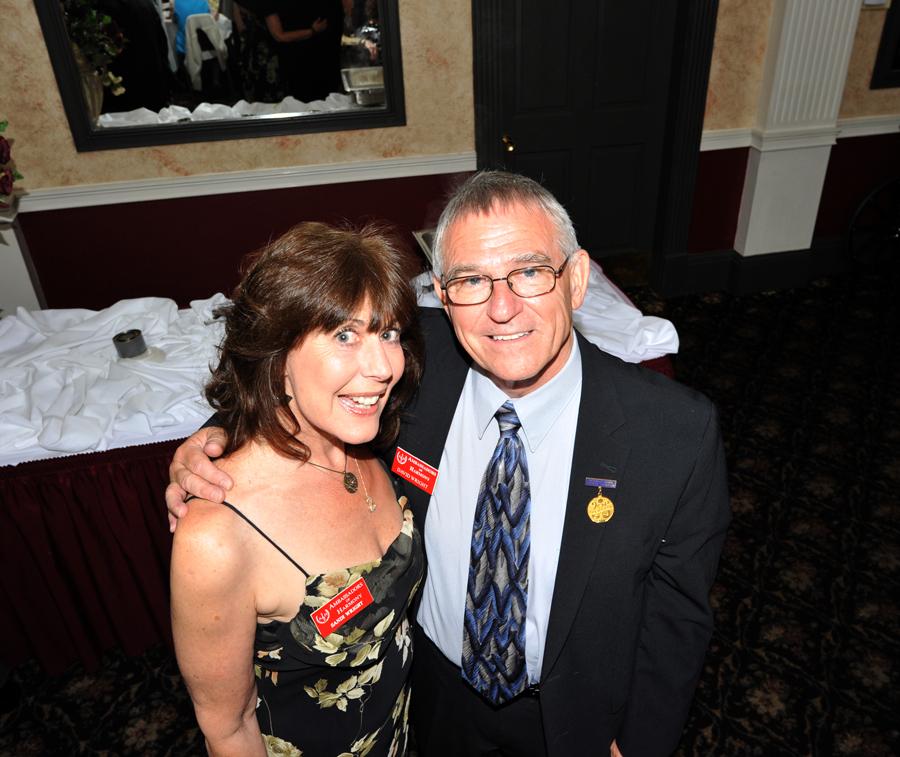 Sandi and David Wright. (Photo by Lance Theby)