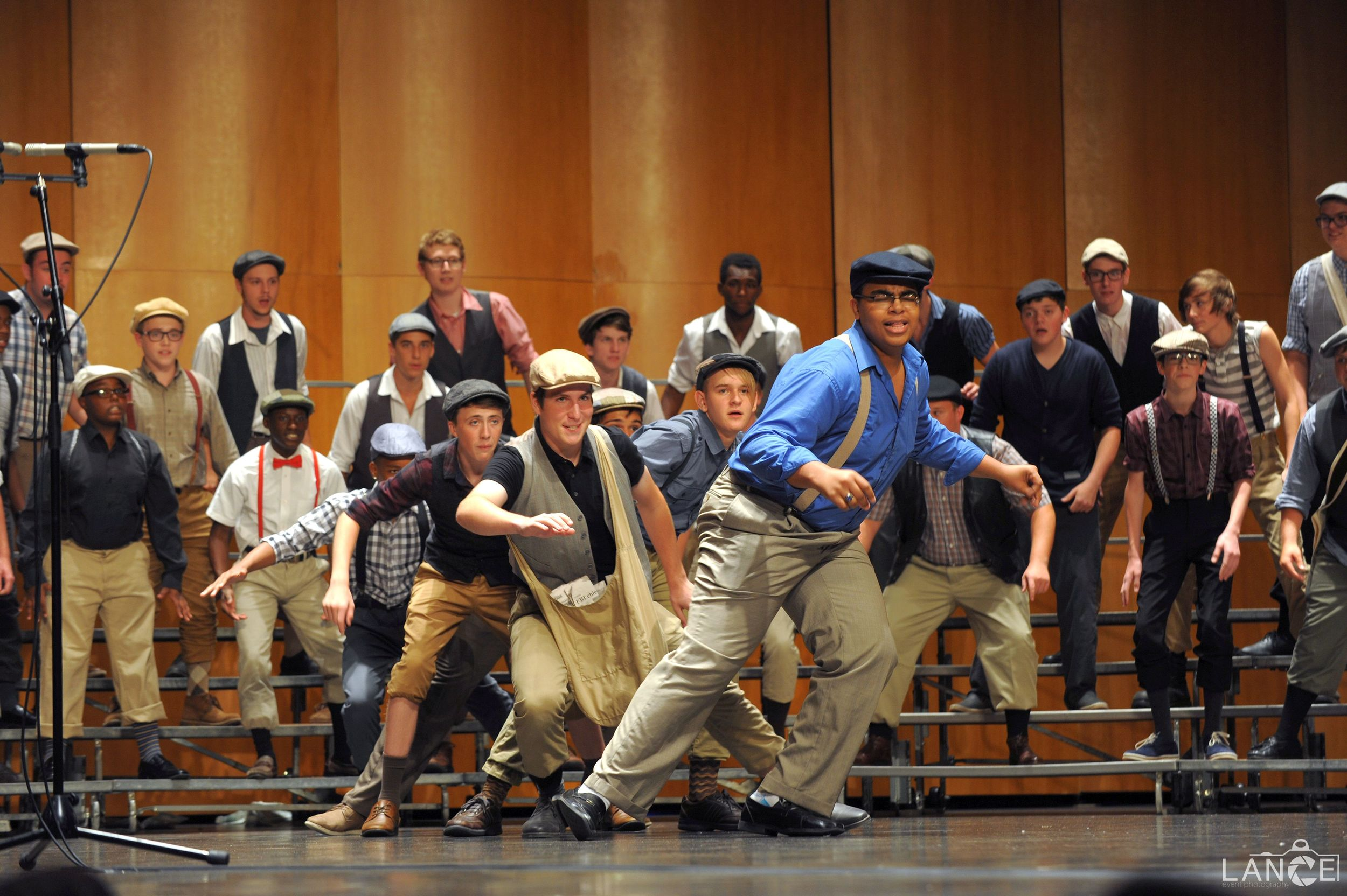 Young men from across the region participate in a one-day a cappella program at the University of Missouri-St. Louis.