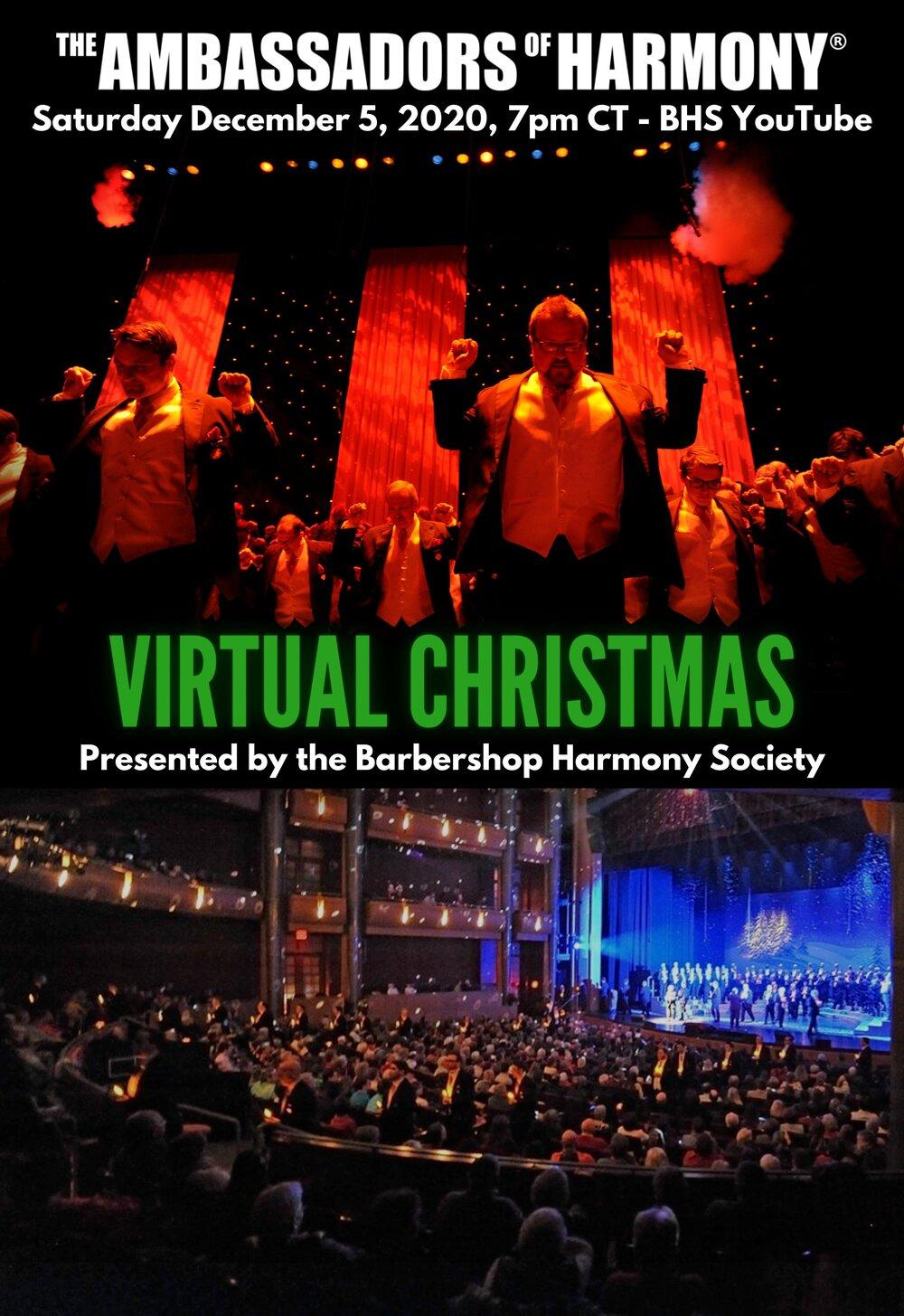 Awesome 2020 Christmas Performance, St. Charles, Mo The Ambassadors of Harmony