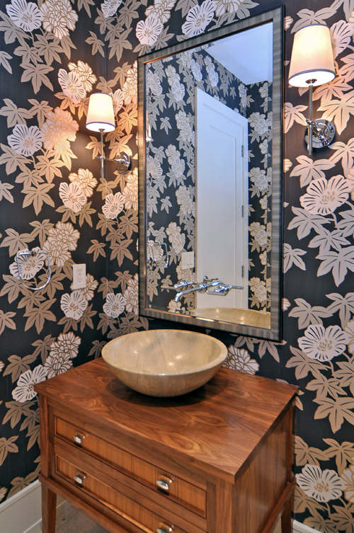 HOUZZ ARTICLE JANUARY 2012: Jewel Box Powder Rooms