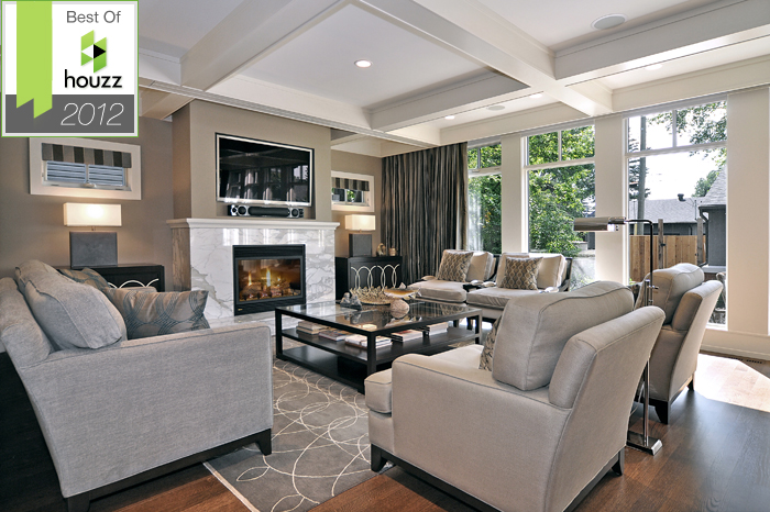 "HOUZZ BEST OF 2012: We are proud to have been voted by the Houzz community as a winner of ""Best of Remodeling"" awards!"