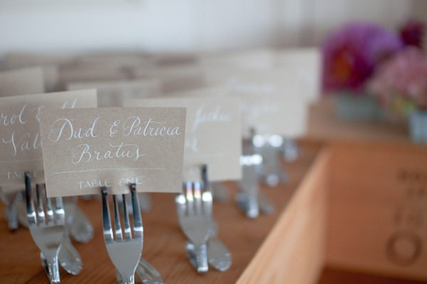 How to manage the wedding guest list. Photo by  A Sweet Start