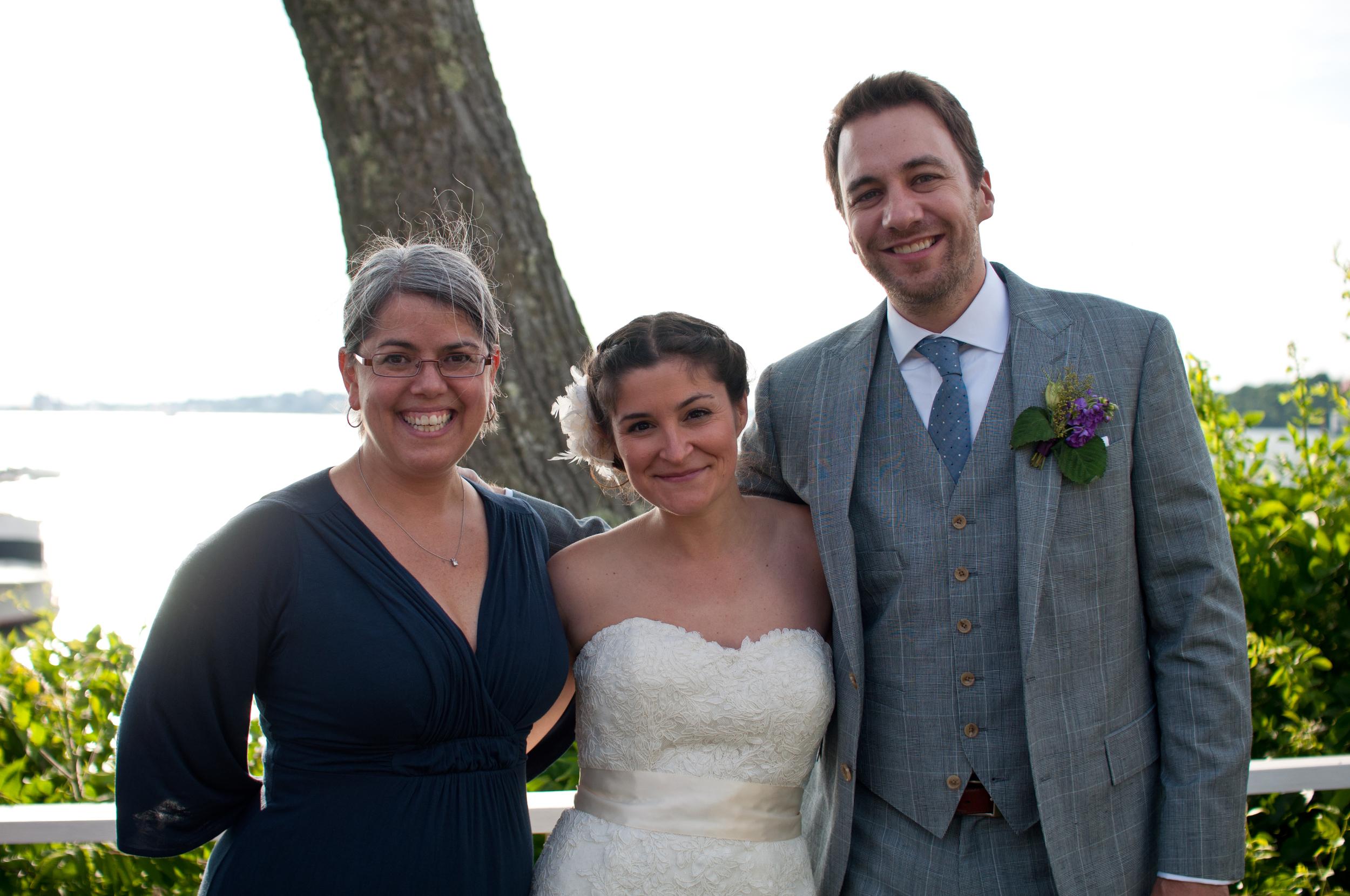 Peaks Island Wedding Officiant