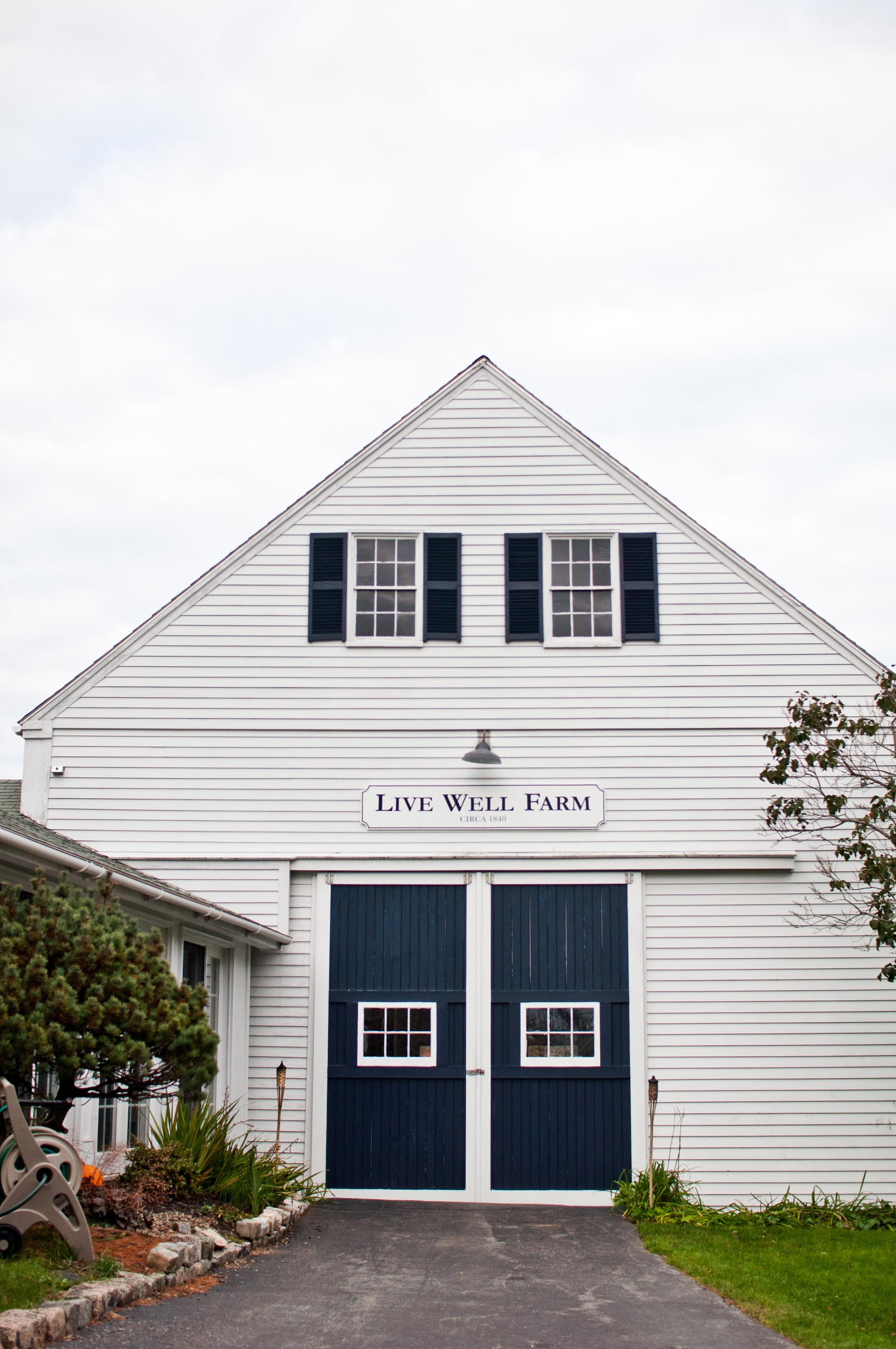 Live Well Farm | Harpswell, Maine | Wedding Venue