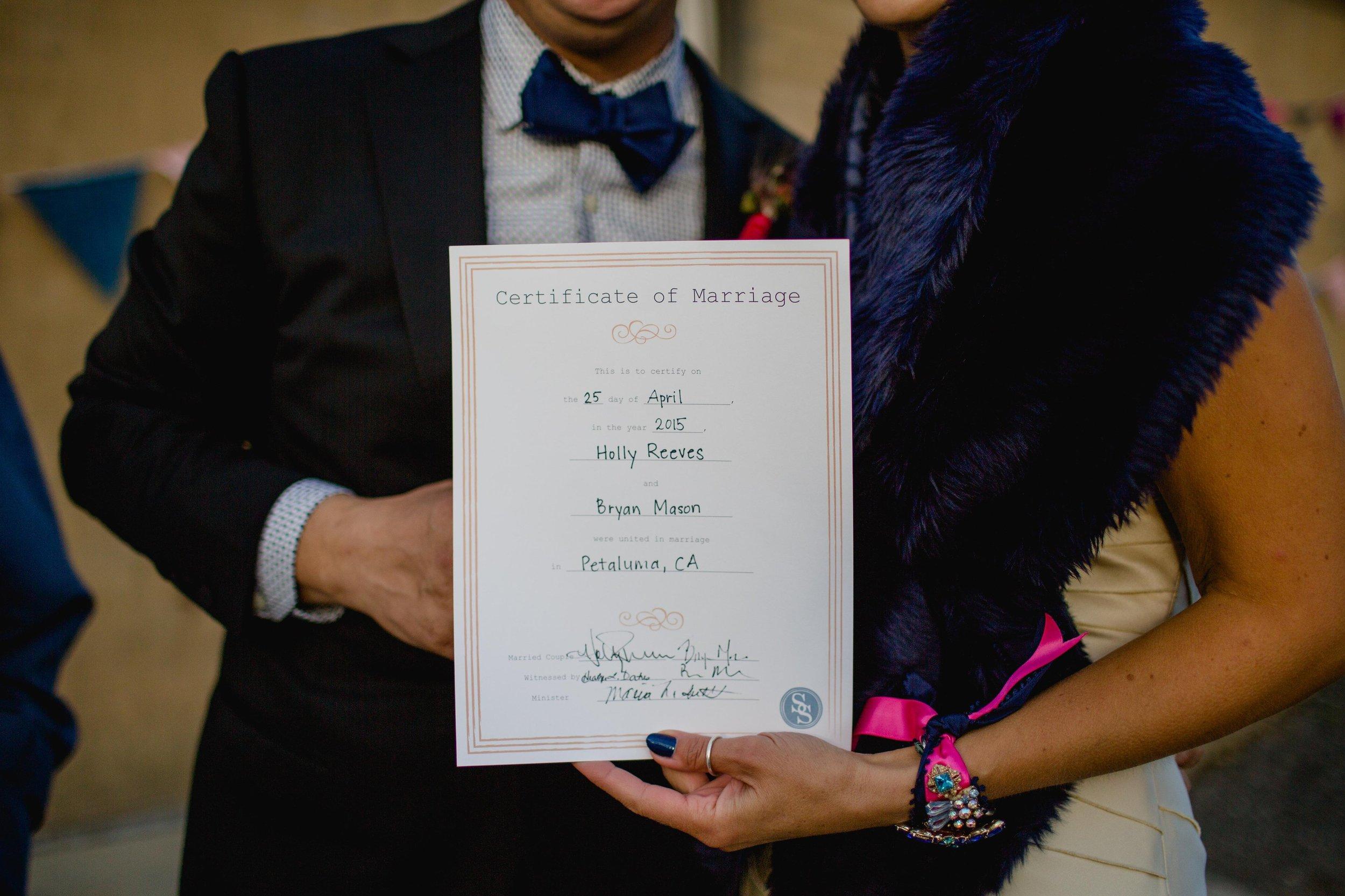 California wedding officiant