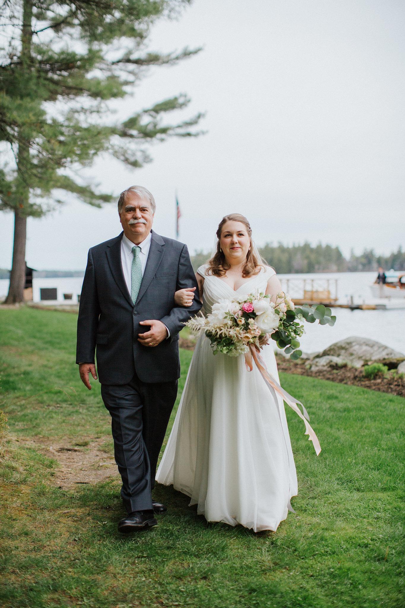 Sebago Lake Maine wedding officiant: A Sweet Start