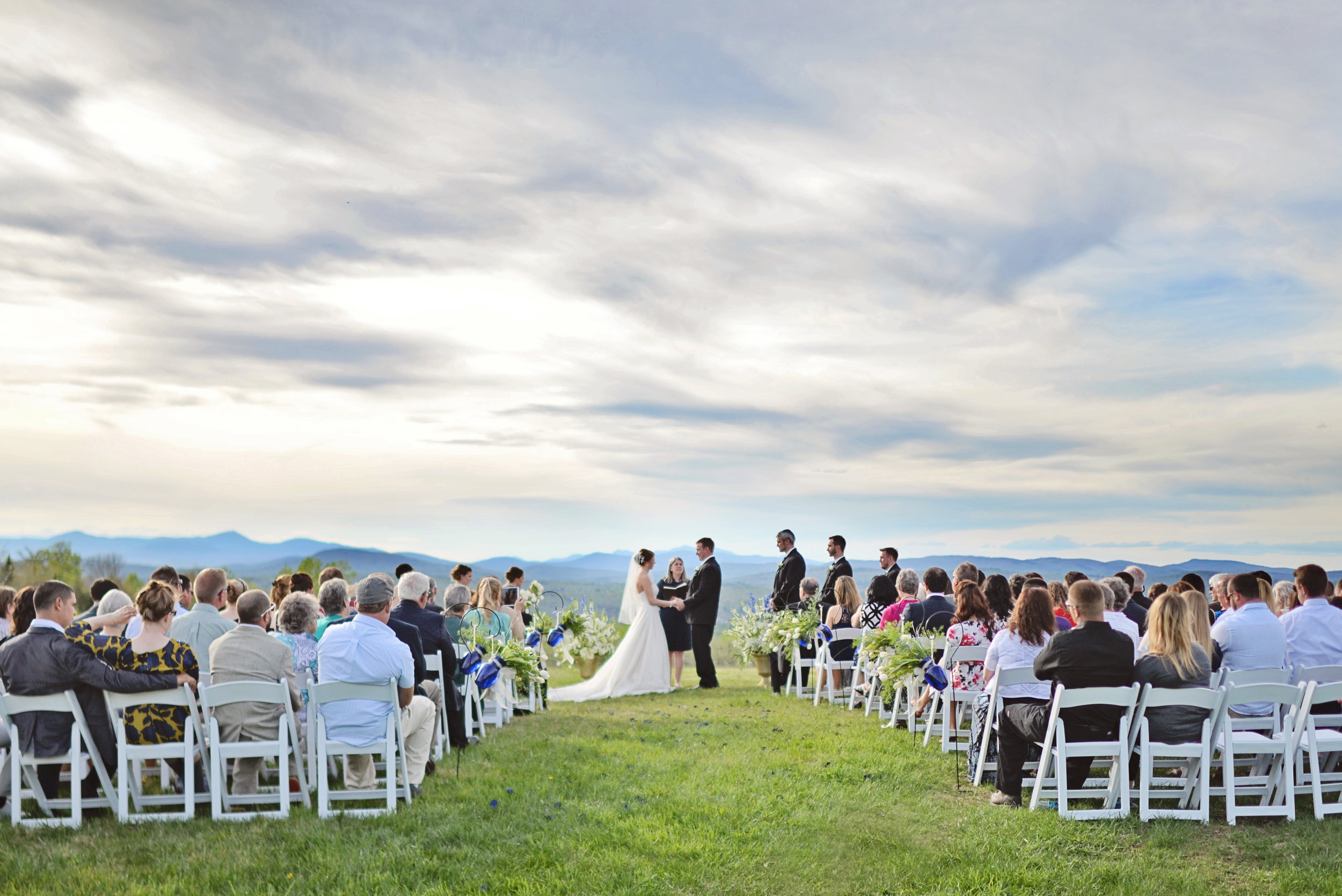 Completely custom wedding ceremony