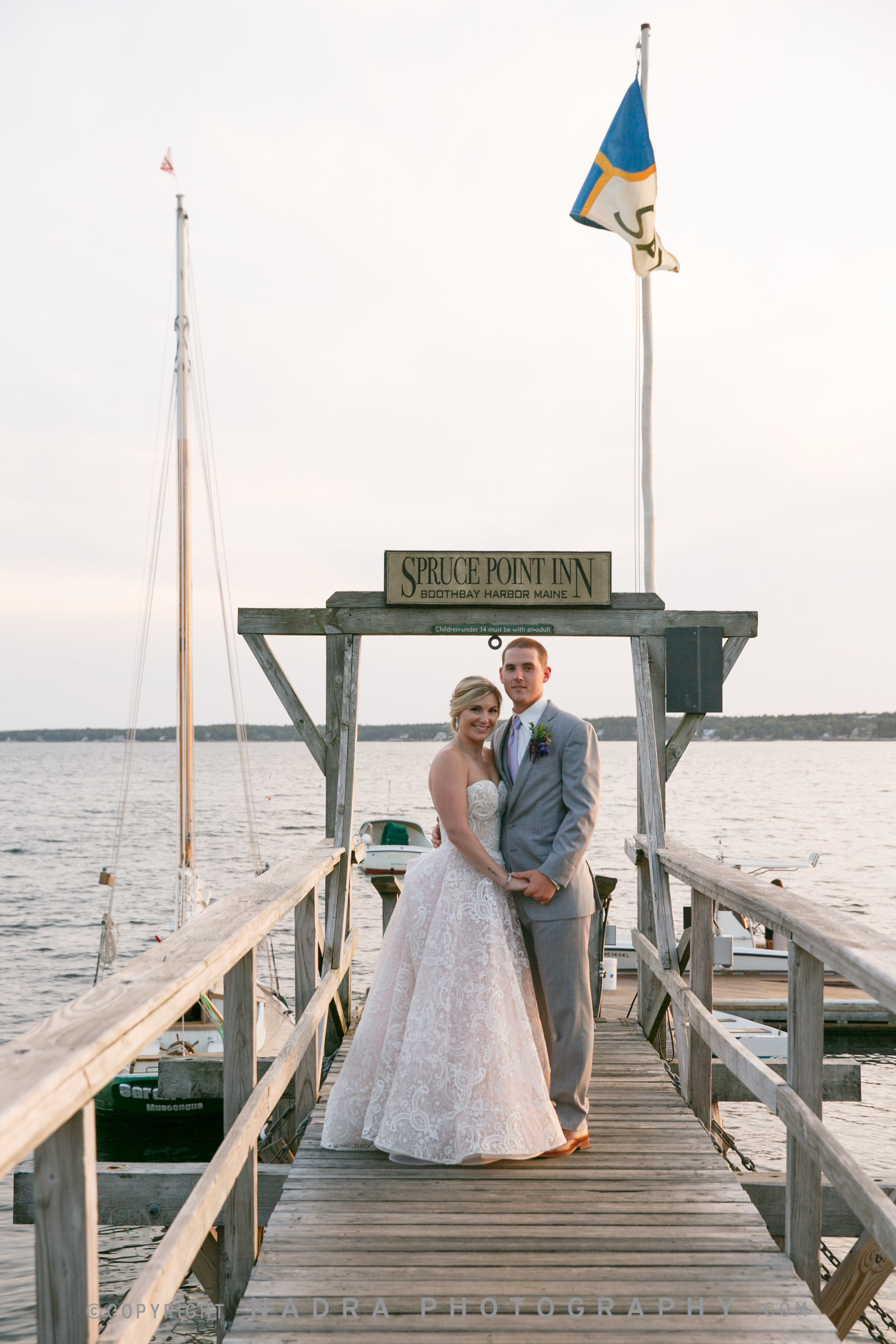 The perfect Maine wedding and a beer ceremony | Officiant:  A Sweet Start  Photo:  Nadra Photography