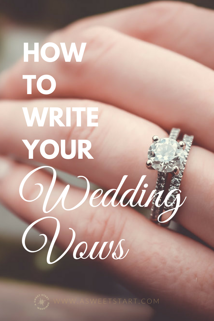 How to write meaningful wedding vows from an experienced wedding officiant. Photo courtesy of  Unsplash
