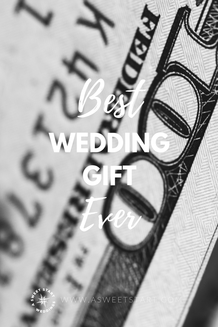 Buying life insurance is the best wedding gift you can give your new spouse! Photo courtesy of Unsplash.