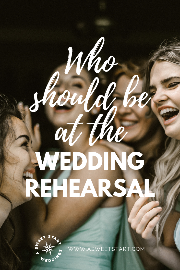 Who should attend the wedding rehearsal? Check out this full list of attendees | Photo by  Genessa Panainte .