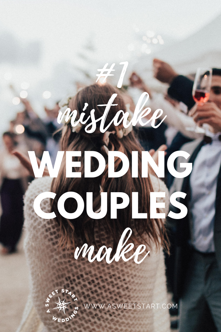 Avoid this 1 mistake many wedding couples make. Photo by  Sweet Ice Cream Photography