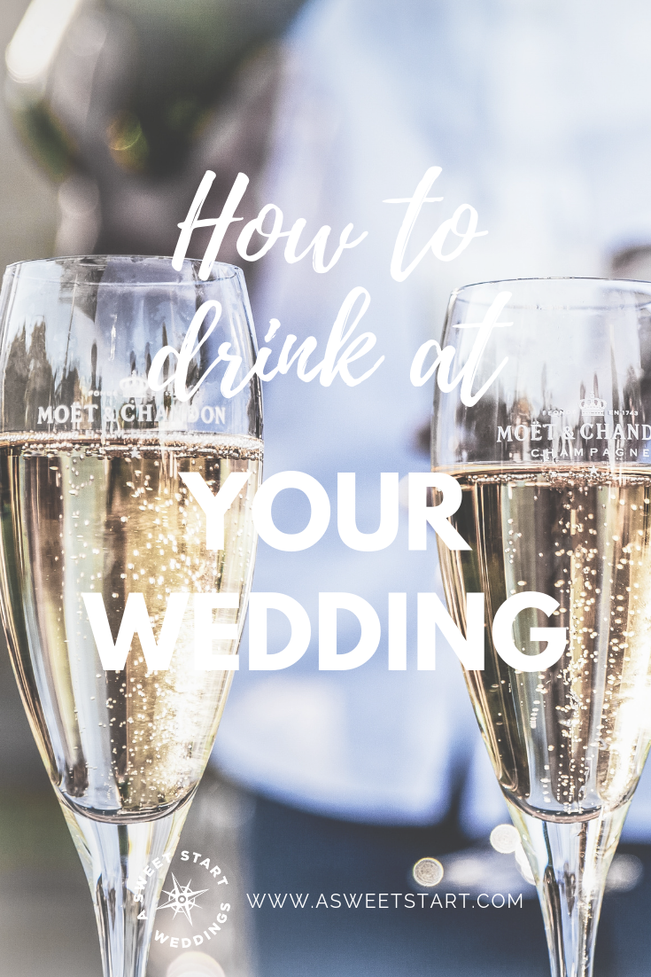 How to drink alcohol at your wedding