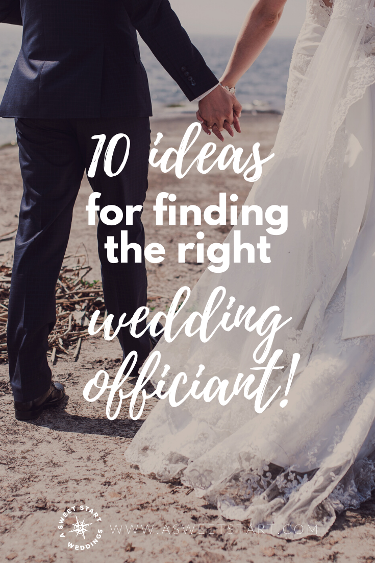 10 things to consider before hiring your professional wedding officiant