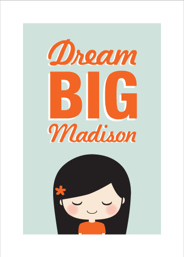 Dream Big Art Print at Minted