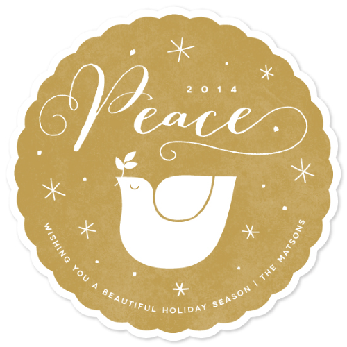 golden peace via minted