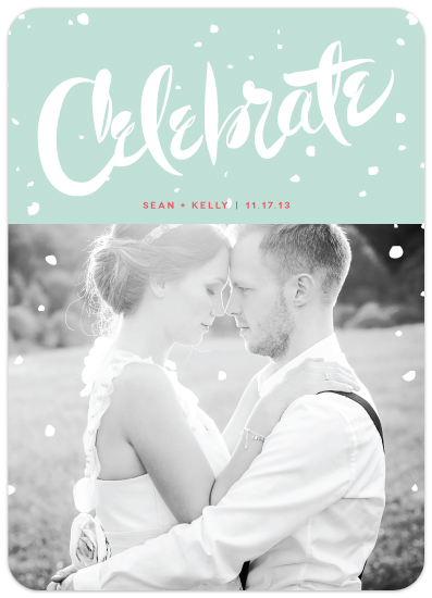 celebrate holiday photo card