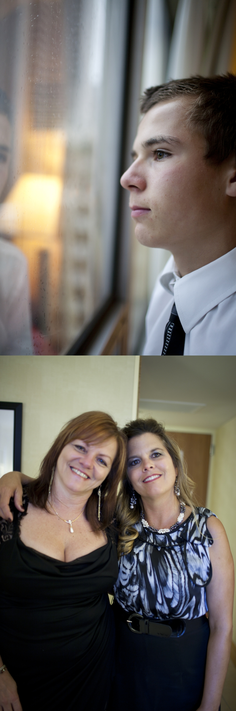 Luciano, what a stud :) (above) My Aunt Mia and Aunt Bonnie (Luc & Gino's mom) enjoying themselves before the party ;) (bottom)