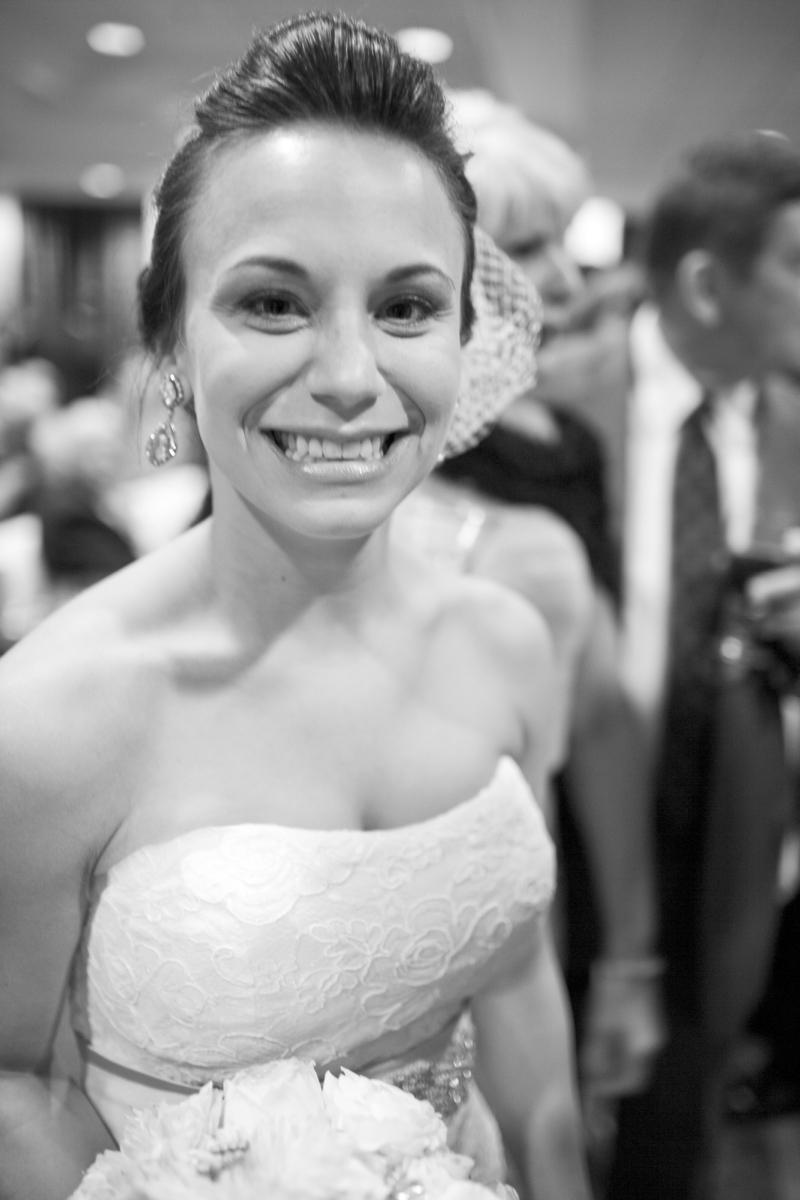 I finally got one shot of the Bride!