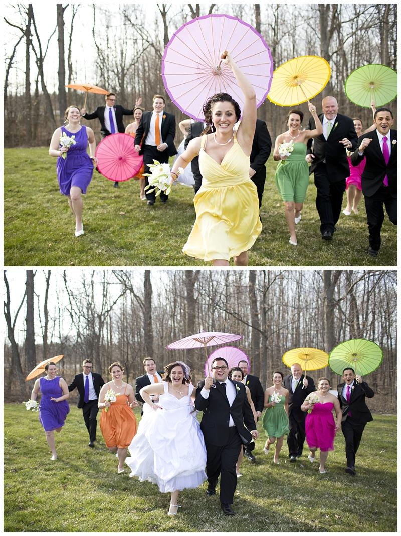 I love the parasols!!!
