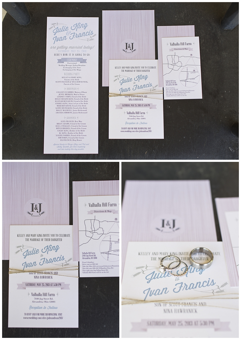 Lindsey Tobin, you did such a beautiful job on all of the signs and invitations!