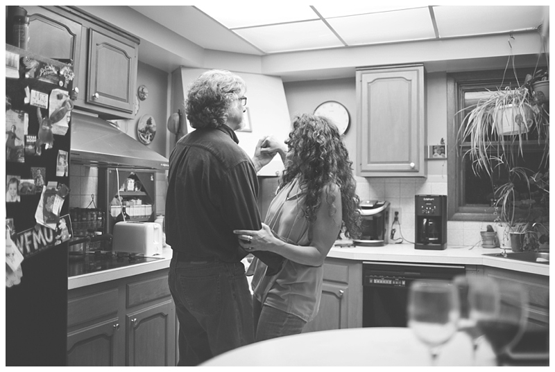 They even danced in the kitchen for me when we were done, gotta love these two!