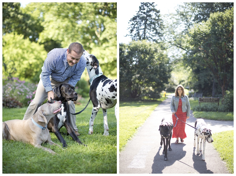 Love the one on the right, candid moments with your dogs are the best!
