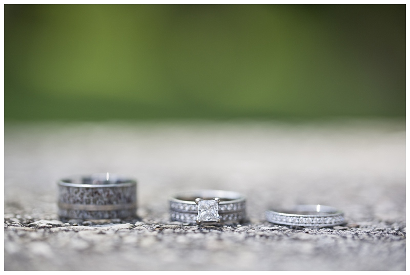 Jarod got his ring on Etsy, it is made out of an antler and I love it! Stay tuned for the credits.