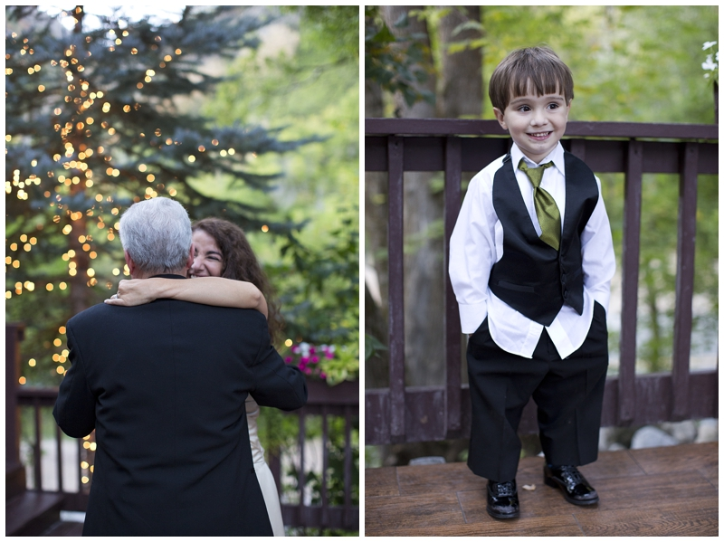 Yep, this is the cutest ring bearer on the planet.. I didn't even tell him how to pose, he's just a natural.