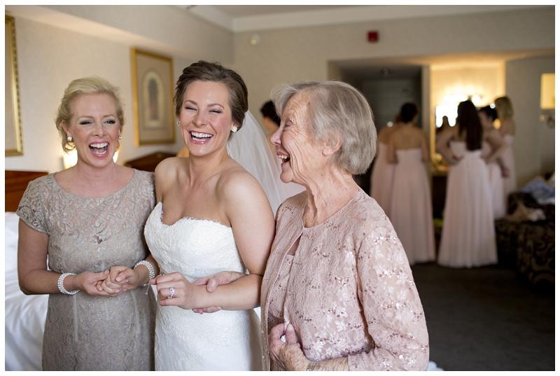 Three generations of beautiful women.