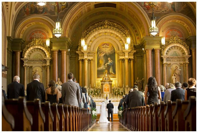 Old St. Mary's Cincinnati Ohio Wedding