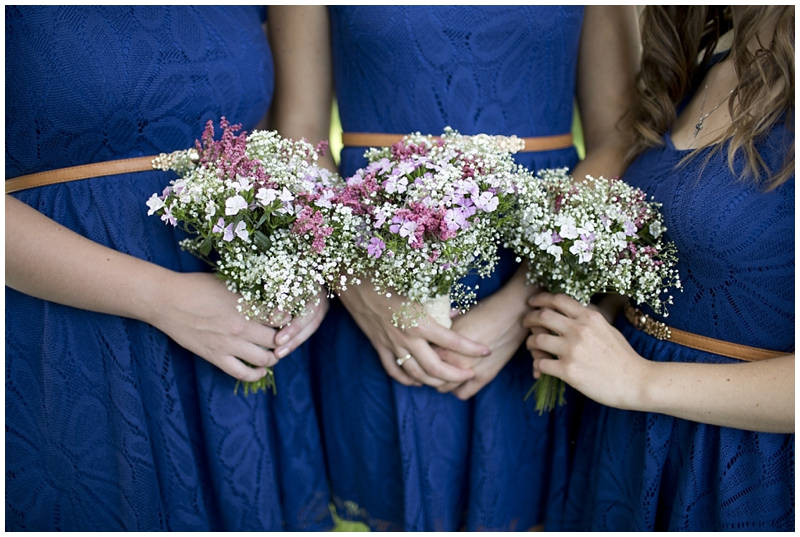 I loved the bridesmaid dresses!